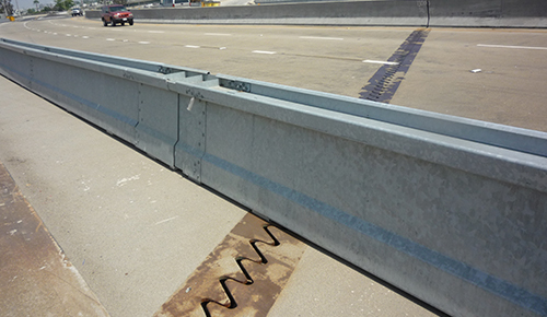 Typical VLB at Expansion Joint