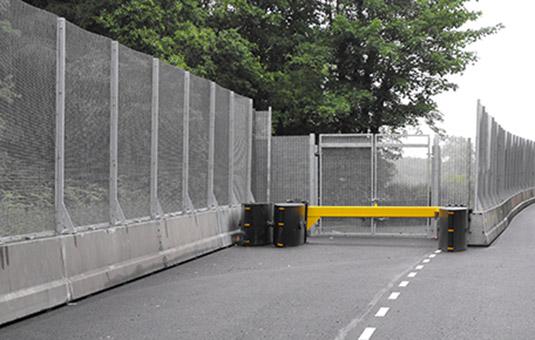 Steel Barriers Thomas Barriers
